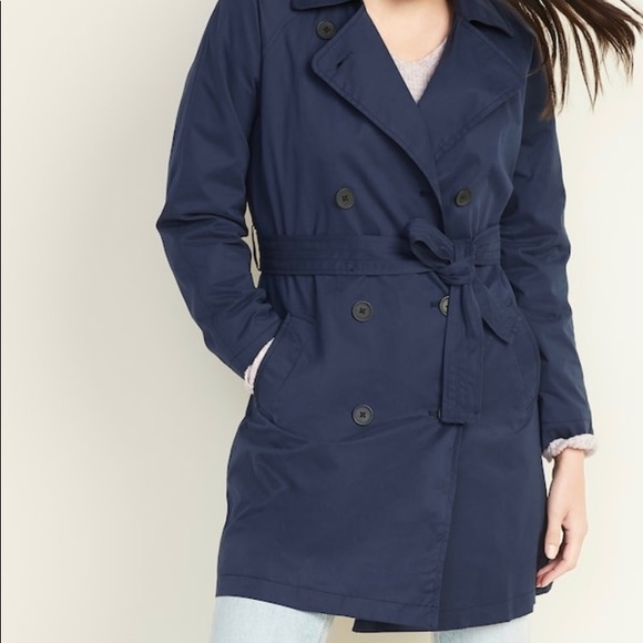 Old Navy Water Resistant Trench Coat